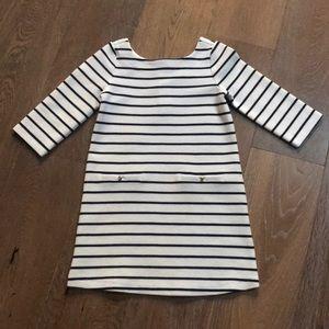Janie and jack striped girls dress size 6